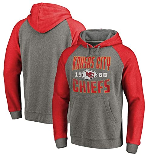 YUNMO Traje de Entrenamiento de Rugby Kansas City Chiefs Sudadera ...