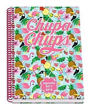 Dohe Chupa Chups Tropic - Agenda escolar semana vista, A5: Amazon.es: Oficina y papelería