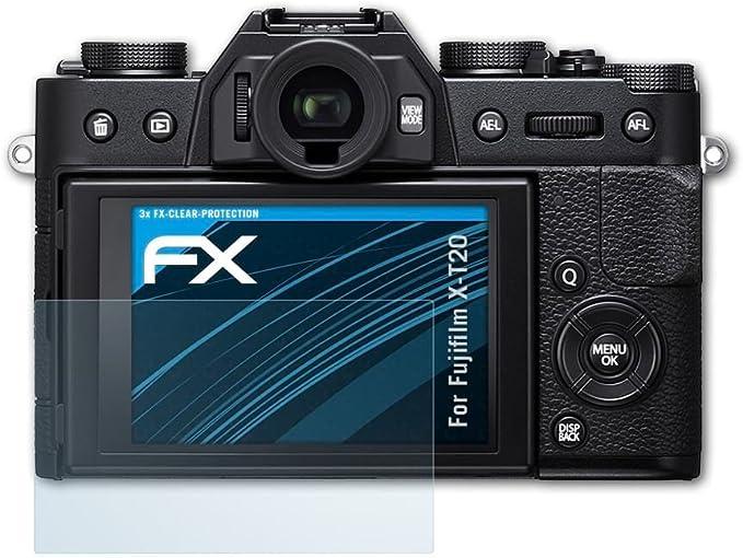 atFoliX Lámina Protectora de Pantalla Compatible con Fujifilm X ...