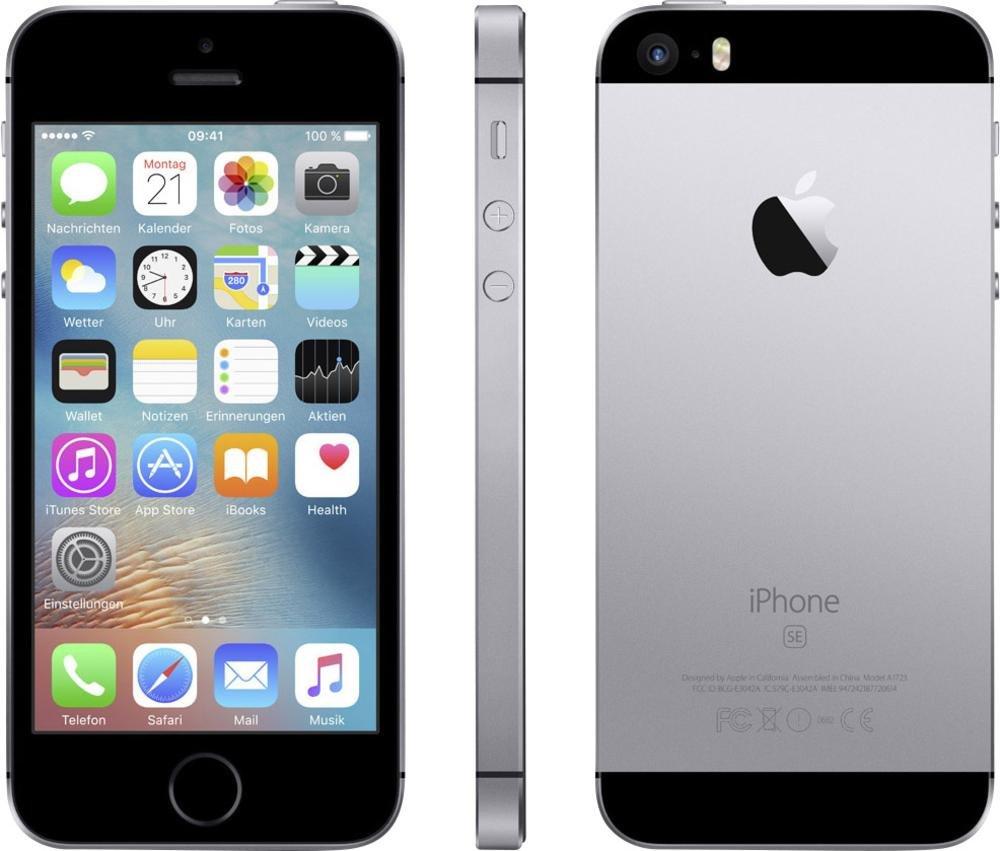 Amazon.com: Apple iPhone SE Space Gray 16GB Sprint Prepaid Carrier