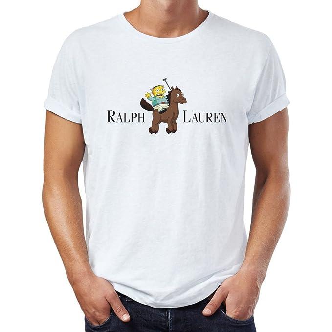check out 7bea2 02795 Ralph Lauren Funny Cartoon Maglietta da uomo: Amazon.it ...