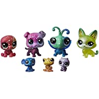 Littlest petshop - Collection Galaxie - 4 minis + 3 teensie petshops n°2