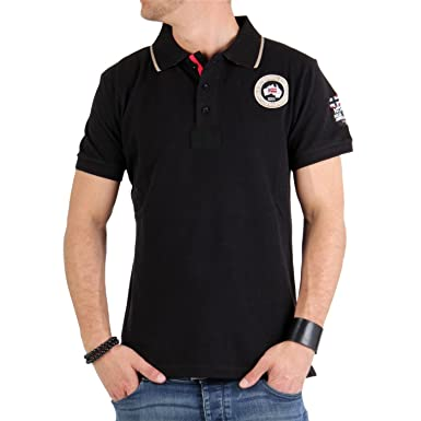 GEOGRAPHICAL NORWAY Polo para hombre Kelvin negro: Amazon.es: Ropa ...