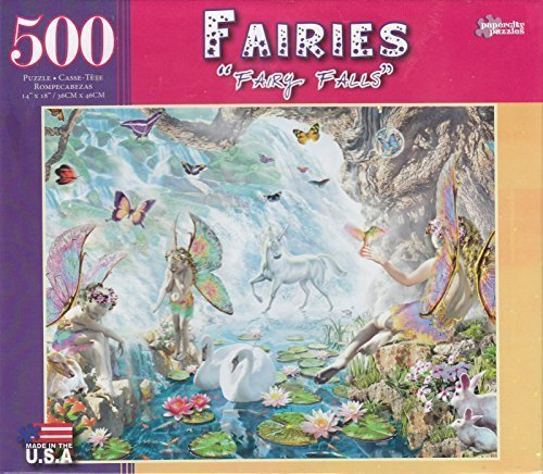 Fairy Falls 500 Piece Puzzle by George