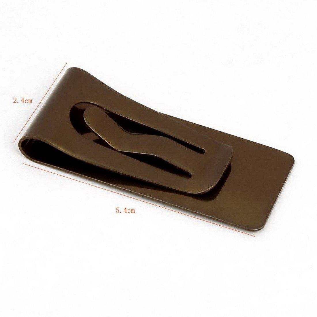 MC1024 Regalos de Cumplea?os Hombre Chocolate Sillšªn Brown Rectš¢ngulo Silm dinero Clip Regalos de lujo para los hombres Por Y&G: Amazon.es: Ropa y ...