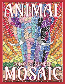 CHRISTMAS MOSAIC Color By Number: Activity Puzzle Coloring ...