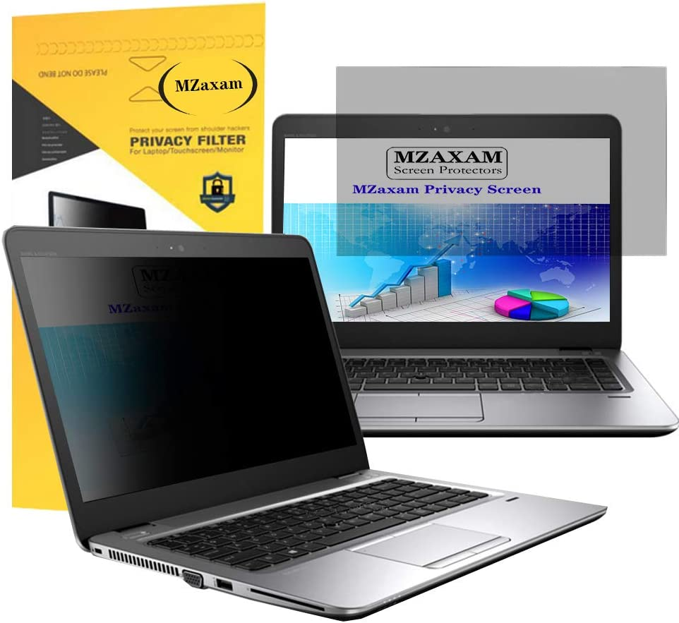MZaxam 15.6 Laptop Privacy Screen Filter Anti-Glare//Anti Scratch Laptop Screen Protector for Widescreen Laptops Display 16:9