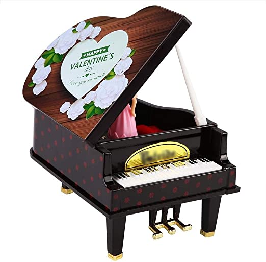 H.Y.FFYH Caja Musical Madera Caja de música Caja de música de ...