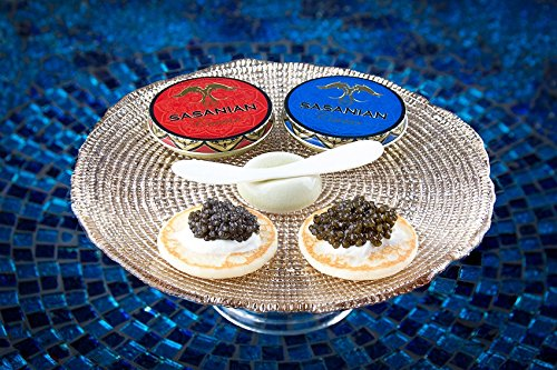 LIMITED TIME OFFER! 1oz Royal Osetra Caviar + 1oz Siberian OsetraFREE BLINI & Mother of Pearl Spoons