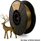 Antique Bronze Metallic PLA - 3D Printing Filament (1.75mm 0.5 kg) Made in the USA