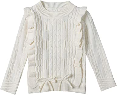 K-Youth Ropa de Punto Niña Casual Caliente Camiseta Manga Larga Niños Suéter Niña Jersey para Niñas Blusa de Punto Niño Invierno Ropa Bebe Niña Recien Nacido Otoño Abrigo Bebe Niña: Amazon.es: Ropa