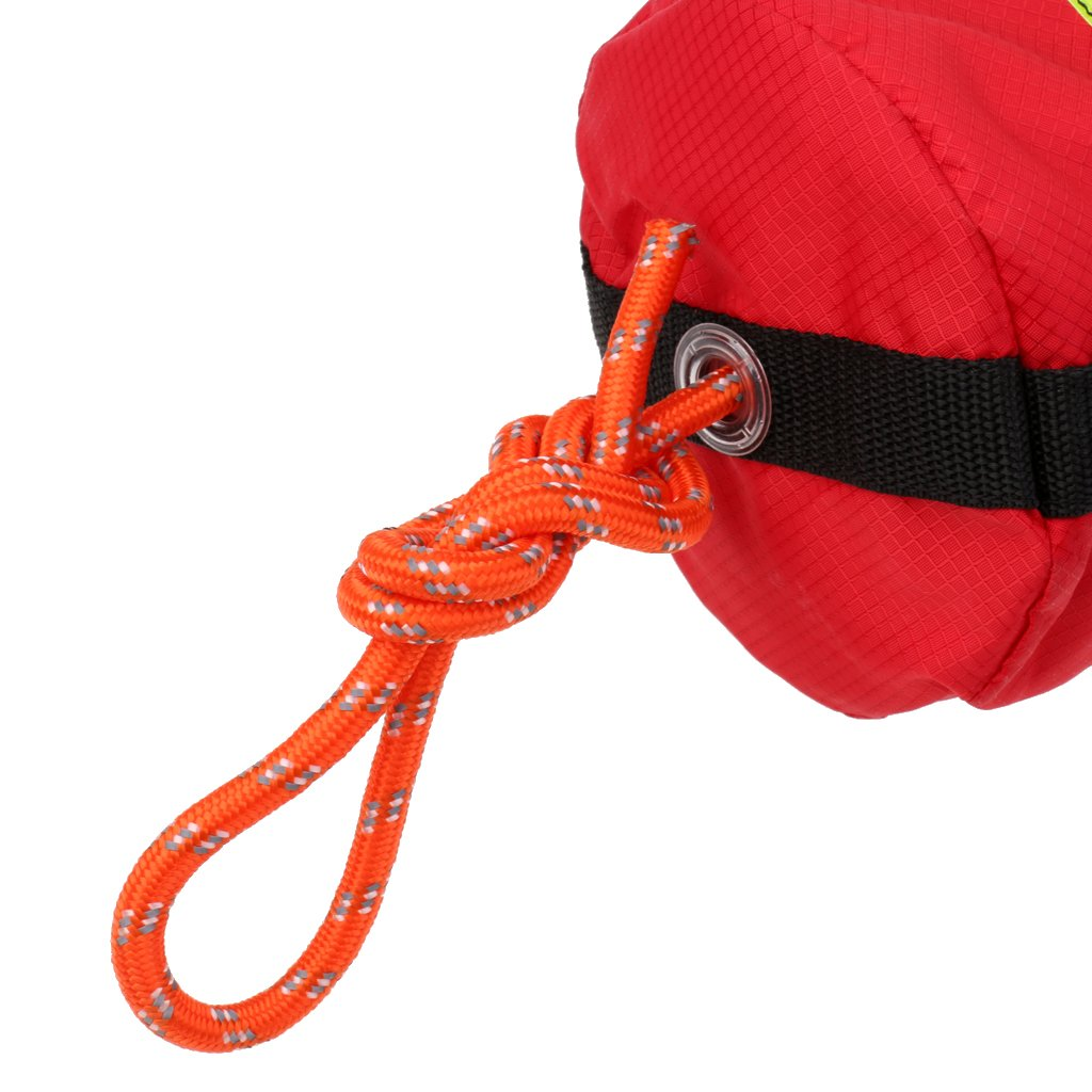 Buoyant Throw Rope 16m//21m Reflective Rescue Line for Kayak Canoe Yacht Boat