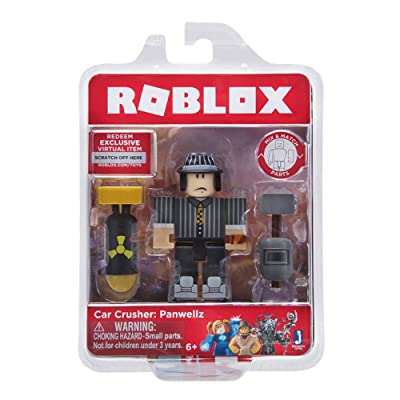 Roblox Car Crusher: Panwellz Figure Pack: Toys & Games