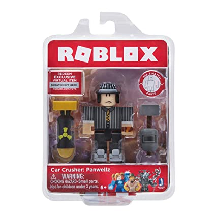 Amazoncom Roblox Car Crusher Panwellz Figure Pack Toys - car crushers 2 roblox group