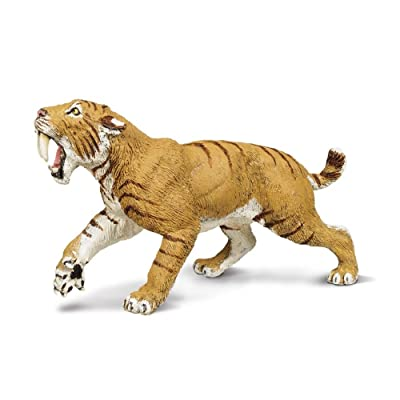 Safari Ltd Wild Safari Smilodon: Toys & Games