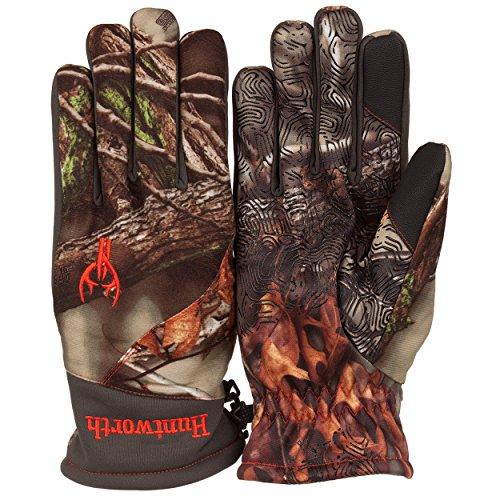 Men's Insulated RaFlekt Technology Classic Oak Tree Camo Hunting Glove (XL)