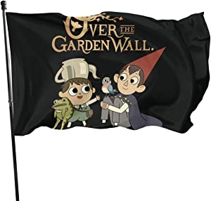 Adsfghrehr Over The Garden Wall Flag 3 X 5 Feet Home Decoration Garden Decoration Outdoor Decoration Holiday Decoration Outdoor Indoor Banner Logo