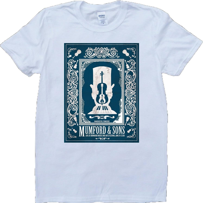 Mumford And Sons Short Sleeve Crew Neck Custom Made T-Shirt
