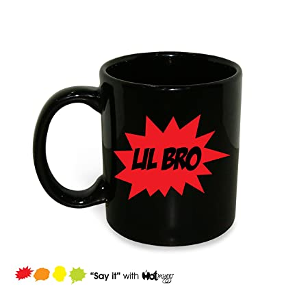 Hot Muggs Lil Bro Ceramic Mug, 350ml Cups, Mugs & Saucers at amazon