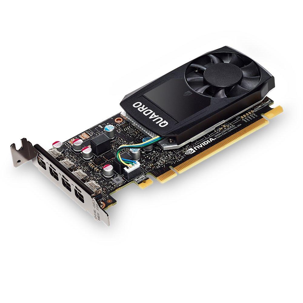 PNY NVIDIA Quadro P600 Professional Graphics Board - VCQP600-PB) Graphic Cards
