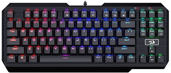 Redragon K553RGB-1 USAS Türkçe Oyuncu Klavye RGB