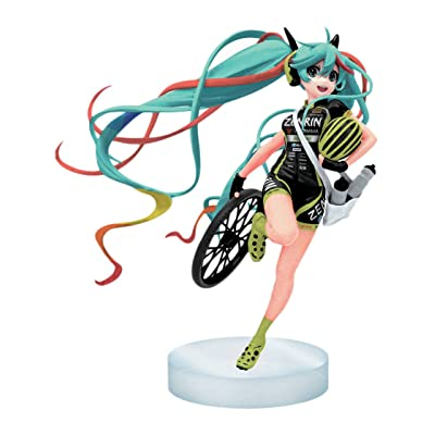 Banpresto Racing 2016 Team UKYO Hatsune Miku Action Figure: Toys & Games