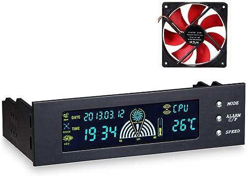 ZNLIgHT Ventilador de enfriamiento para ordenador | 5.25