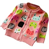 Zhuannian Baby Girls Cardigan Fleece Warm Outwear