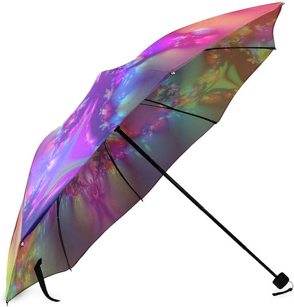 Umbrella Art Custom Umbrella Automatic Folding Umbrella Rainproof /& Windprrof