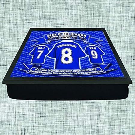Chelsea Football Shirt Personalised Lap Tray Gift