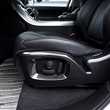 For Land Rover Range Rover Sport 2016 ABS Inner Car Seat Adjustment Cover Trim