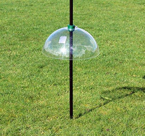 Garden Mile® Large Universal 40cm Clear Squirrel Baffle Squirrel Proof Bird Feeder Accessory