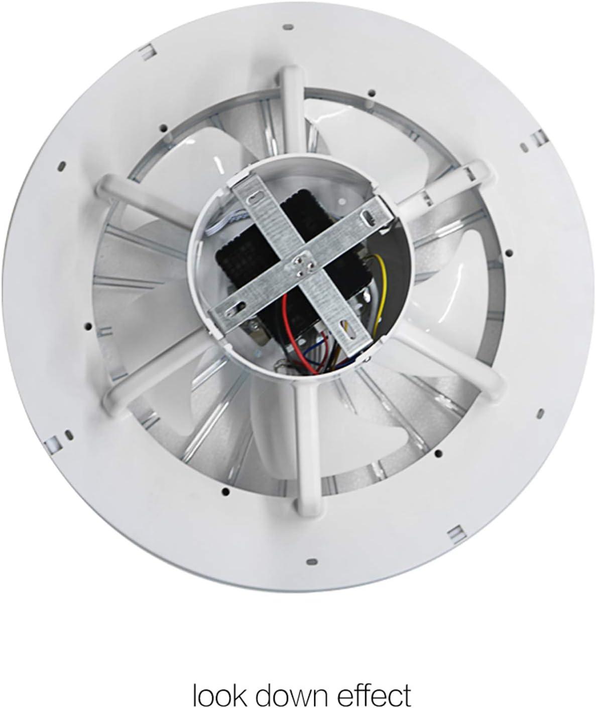 Ventilateur de plafond avec t/él/écommande d/éclairage silencieux,220V ventilateur de plafond lumi/ère lampe de bureau plafonnier ventilateur pour chambre salon,Gradation 3 vitesses