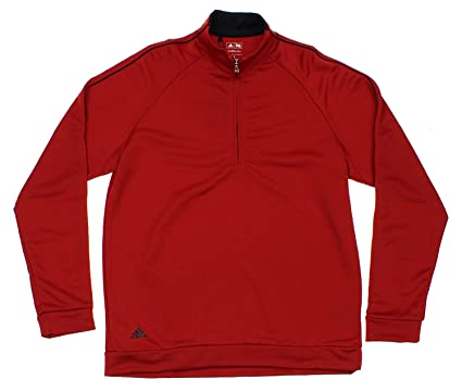Activewear Mens Adidas Climacool Quarter Zip Athletic Sweater Men's Small Good Condition
