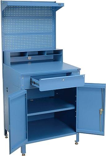 Shop Desk w/Lower Cabinet