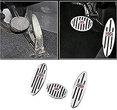 AT Auto Pedal Set Gas Brake Footrest A//T 3 PCS for BMW MINI COOPER 2001-2011