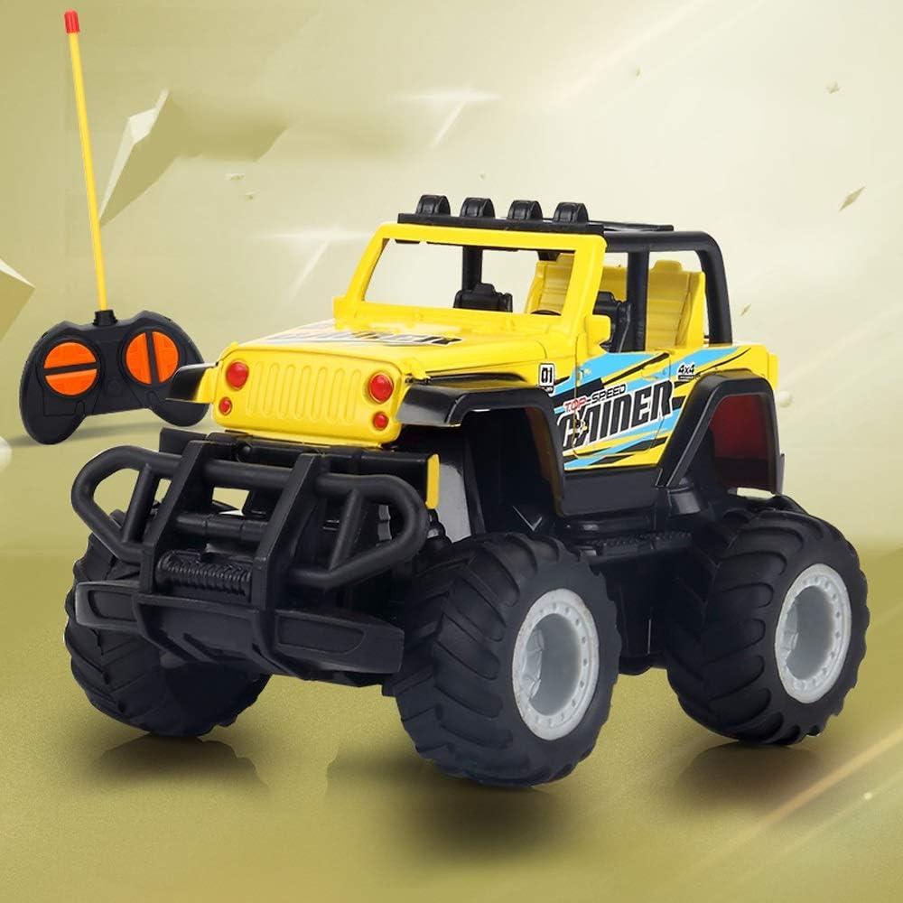 Kikioo Carrera eléctrica de control remoto recargable de alta velocidad Racing Monster Buggy rastreadores de Chariot RC Coches de 2,4 GHz de 4 canales for niños de Navidad Off Road de vehículos Coches