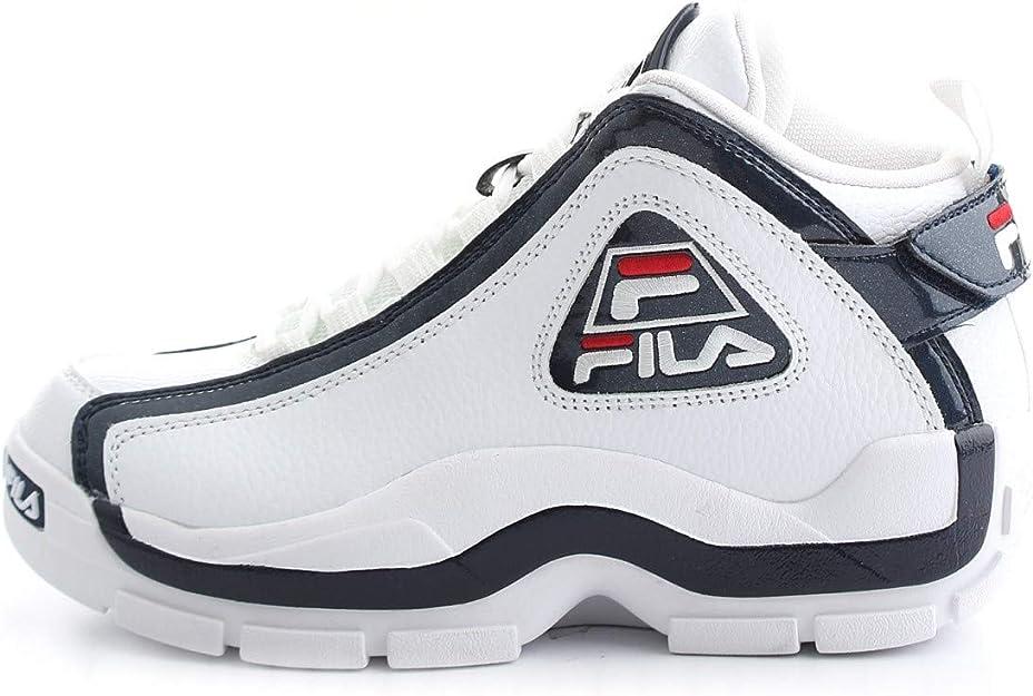 Fila Herren Sneakers Schuhe Grant Hill 2 aus weißem Leder 1010788 01M