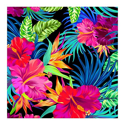 Mikolot 5D DIY Full Drill Diamond Painting Kit Rhinestone Embroidery for Home Wall Decoration 40 x 30cm (Tropical -
