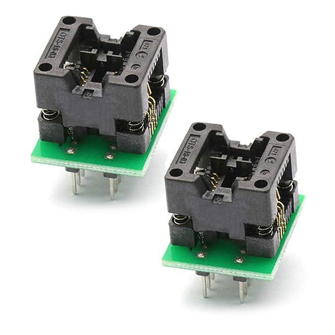SOIC8 SOP8 to DIP8 EZ Programmer Adapter Socket Converter Module 150mil 200mil