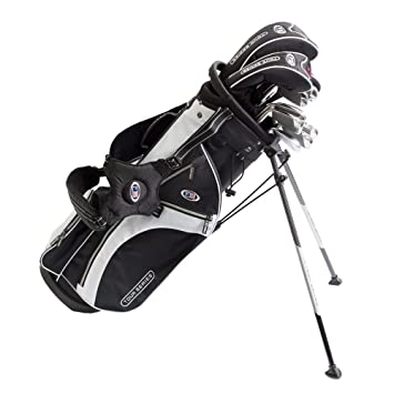 US kids Golf TS 60 Set Bolsa de Palos, Unisex niños, Negro ...