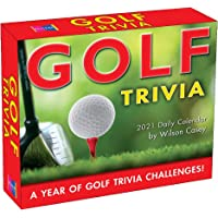 Image for 2021 Golf Trivia Boxed Daily Calendar