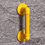 YAOHAOHAO 30 cm handrail bath rooms, the elderly handle sure glass bath rooms, of the anti-slip hand rails accessible to hand rails (Color yellow)