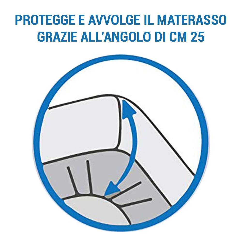 Banzaii Coprimaterasso Antistress massaggiante Matrimoniale 1 Piazza e 1//2-120x200 cm 1 Piazza e 1//2 e Singolo 1 Piazza
