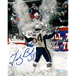 3bf6c6fa7 Amazon.com: Tedy Bruschi New England Patriots throwback uniform 8x10 ...
