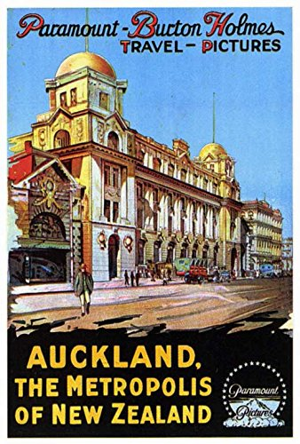 Auckland, the Metropolis of New Zealand Poster