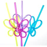 Fun Express FX IN-85/3810V Butterfly Straws (Pack of 36)