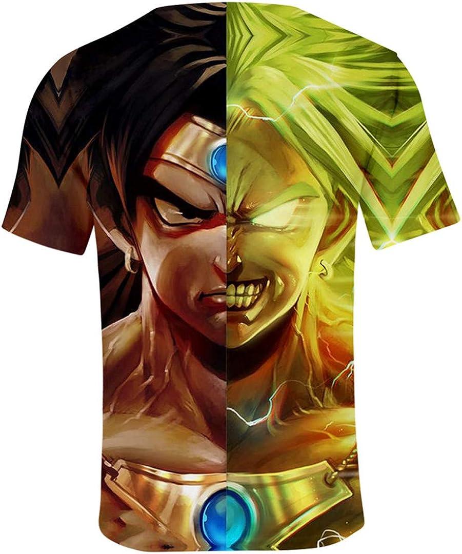 Silver Basic Dragon Ball Abbigliamento Bambino Maglietta Heroes T Shirt Top