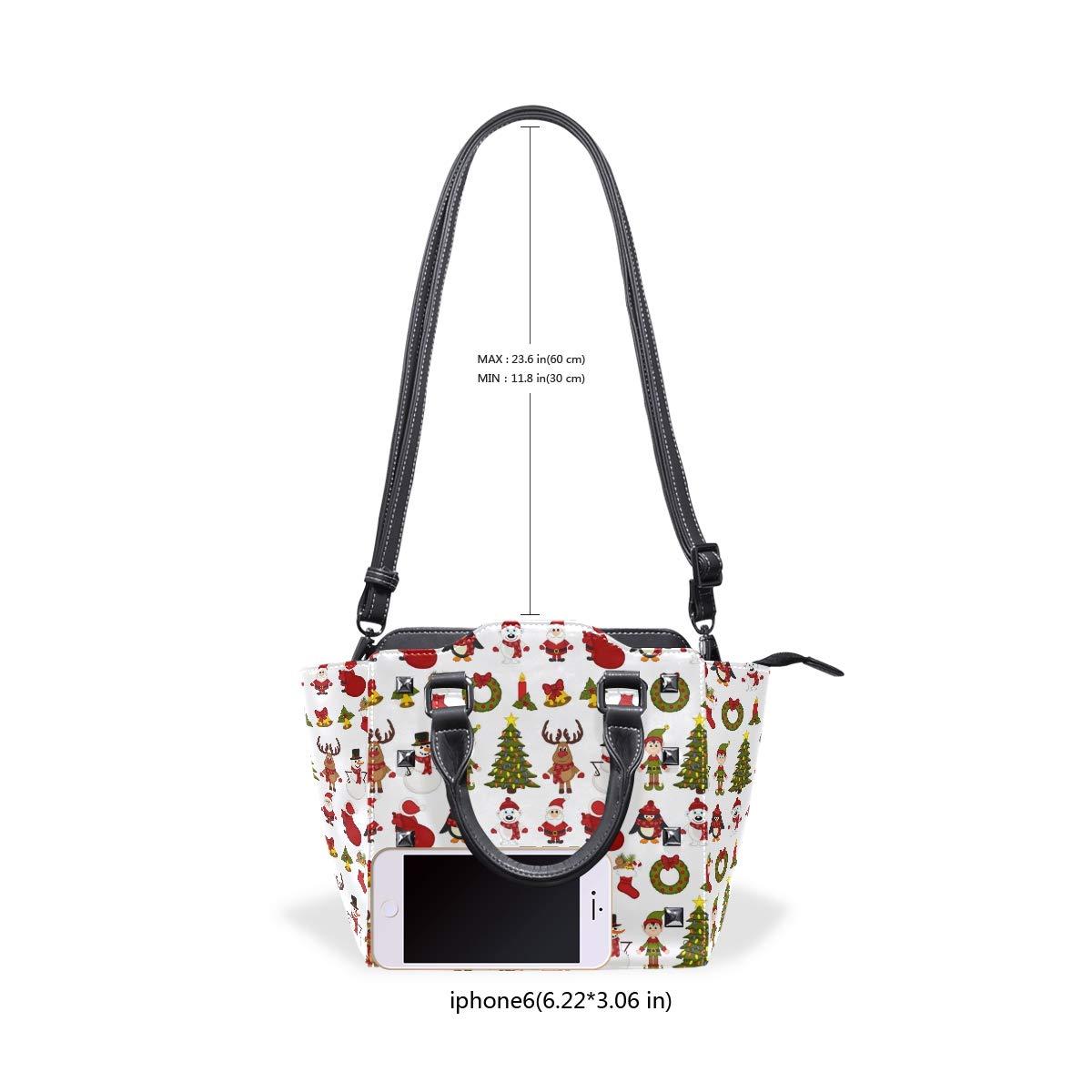 Penguin Gifts Christmas Womens fashion Handbags Shoulder Bags Handle Satchel
