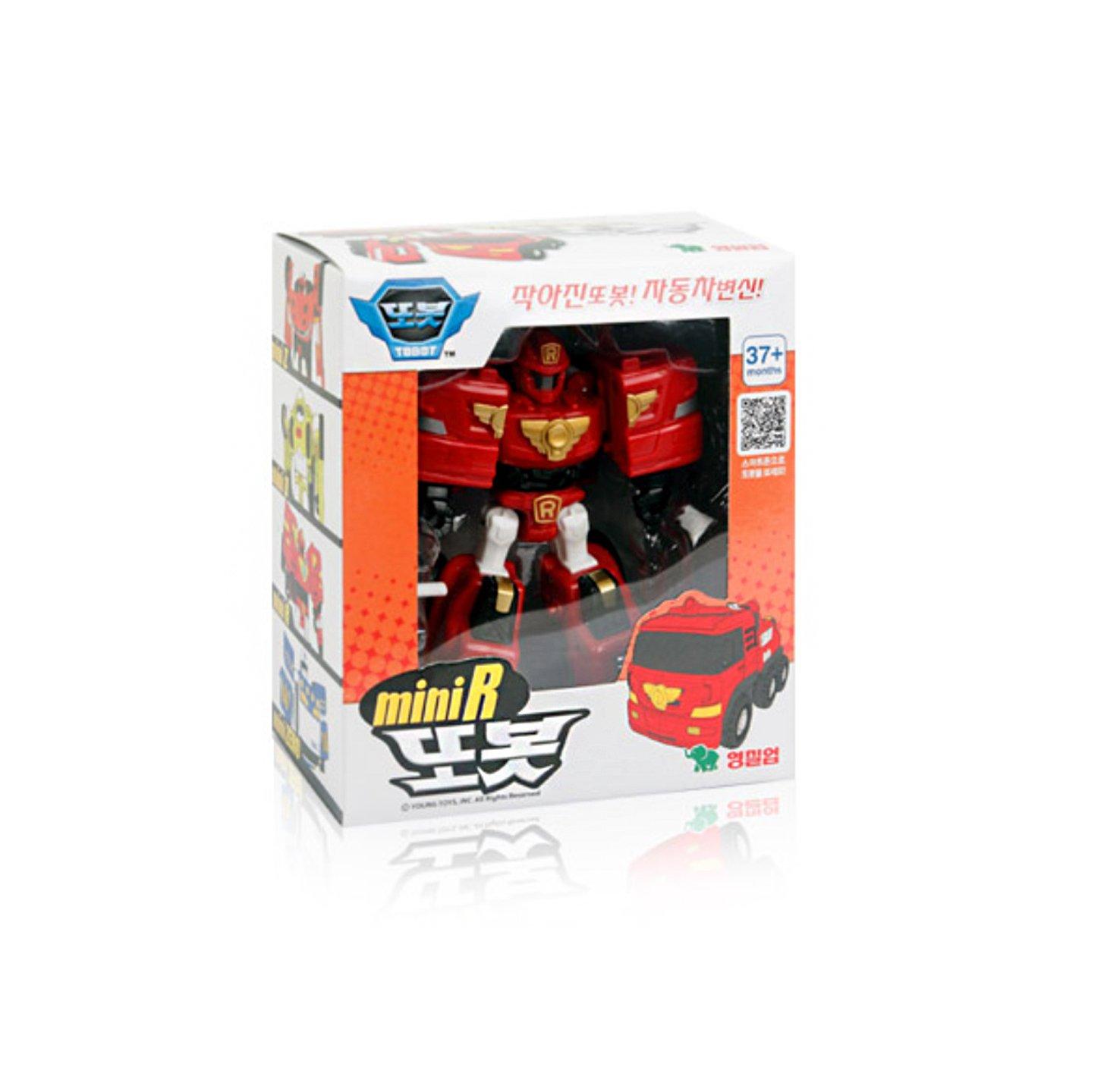 Amazon Tobot R Mini Transformer Korean Animation Robot Character Toys & Games